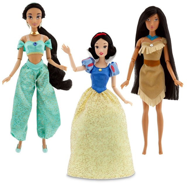 More 2011 Articulated Disney Princesses