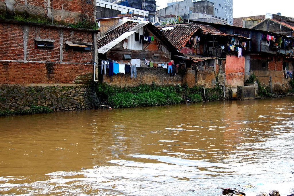 Cikapundung River of Bandung