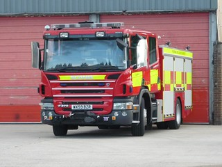 Wiltshire Fire and Rescue - SCANIA Parked Up