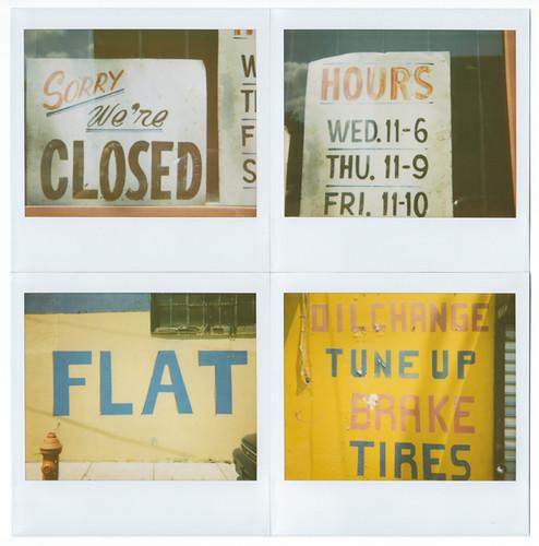 Expresh letters blog vernacular typography polaroids Vernacular typography
