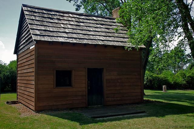 John Patton Log Cabin Lexington Il Flickr Photo Sharing