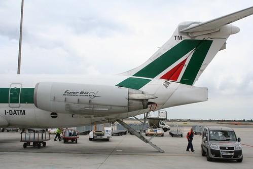 Alitalia, McDonnell Douglas MD-82 (DC-9-82), I-DATM Named Cividale del Friuli (cn 53230/2106)