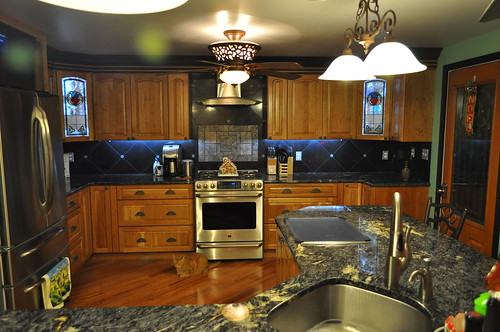 SWIMPHOTO's remodeled kitchen.