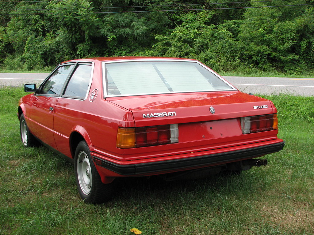 A 1985 MASERATI BITURBO COUPE IN JULY 2010 | For sale then | RICHIE W | Flickr