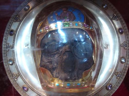 John the Baptist's skull