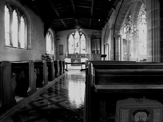 A Moment: Chapel at Holy Trinty Church Coventry UK