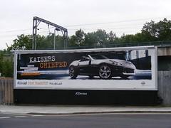 Nissan anti-German advertising.
