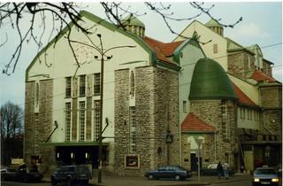Jugendstil Estonian Drama Theatre - Eesti Draamateater, Tallinn, Estonia  May 1996