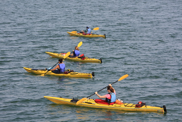 kayaking in English Bay  (#4)