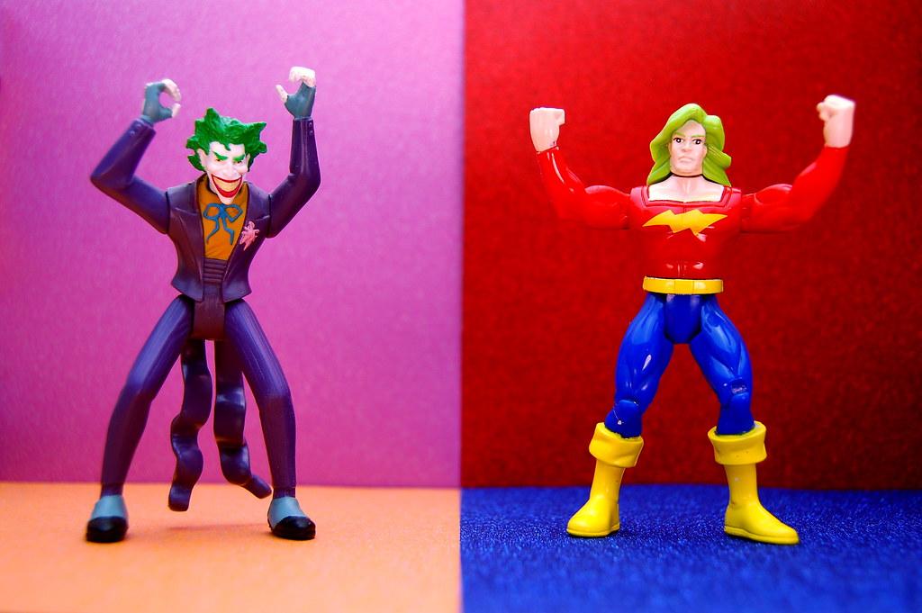 Joker vs. Doc Samson (214/365)