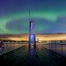 Northern light in Oslo by Otto Motzke