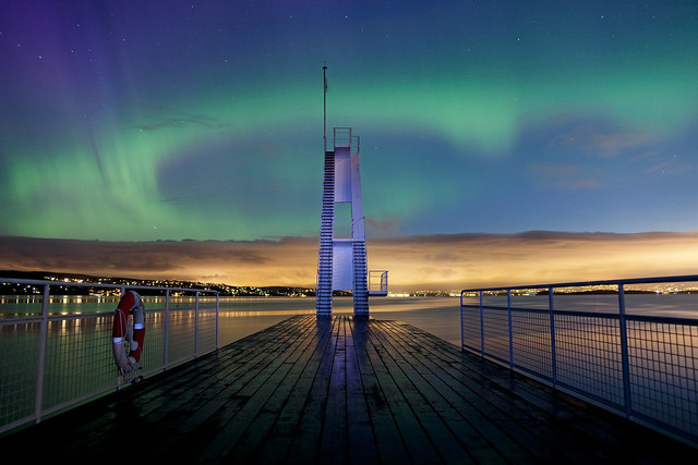 Northern light in Oslo