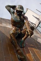 ancient history(0.0), gargoyle(0.0), wood(0.0), carving(1.0), art(1.0), sculpture(1.0), bronze sculpture(1.0), statue(1.0),