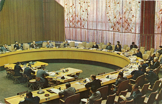 United Nations: Economic & Social Council Chamber