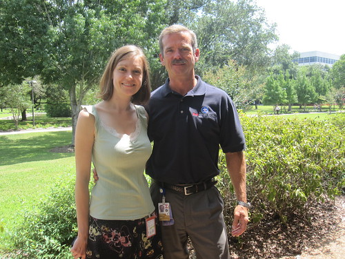 Kate Arkless Gray and Chris Hadfield
