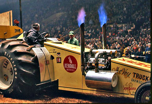 A Custom Pulling Tractor February 1971 At Freedom Hall