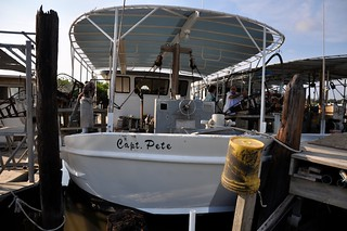 Captain Pete's boat