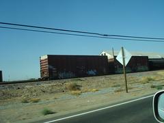 Train Graffiti.