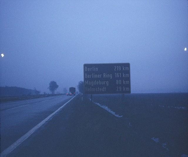 Berlin Autobahn signAutobahn Sign
