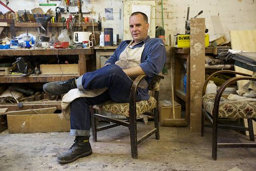 The last cabinet maker of Shoreditch