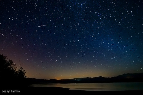 EXPLORED #50 -Persides meteor over a lake