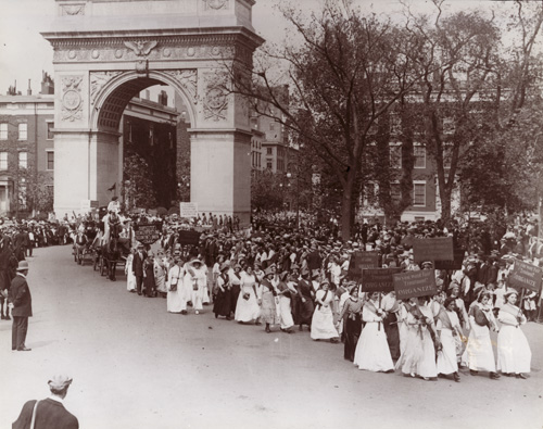 Labor Day Parade in Washington Square Park