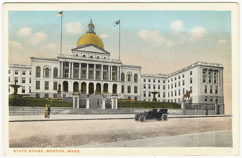 State House, Boston, Mass. [front]
