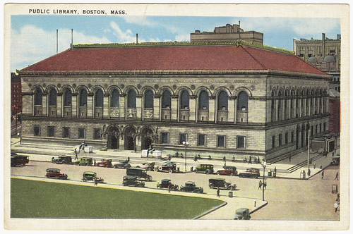 Public Library, Boston Mass. [front]