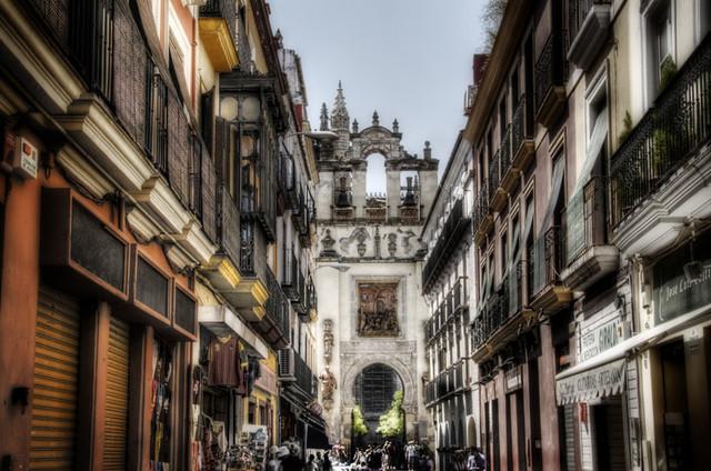 Seville street calle de sevilla flickr photo sharing - Calle correduria sevilla ...