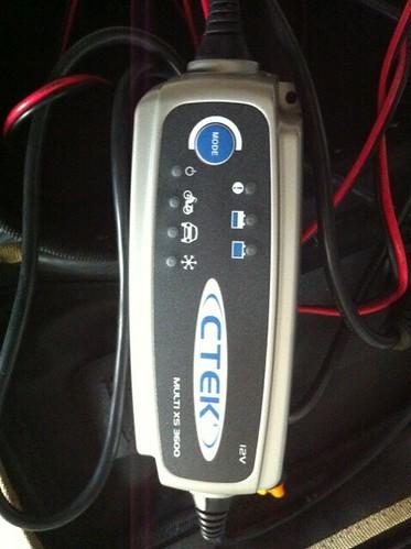 product review ctek multi xs 4003 batterie ladeger t. Black Bedroom Furniture Sets. Home Design Ideas