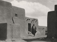 Pueblo of San Geronimo De Taos, New Mexico 1926, by E.O. Hoppe