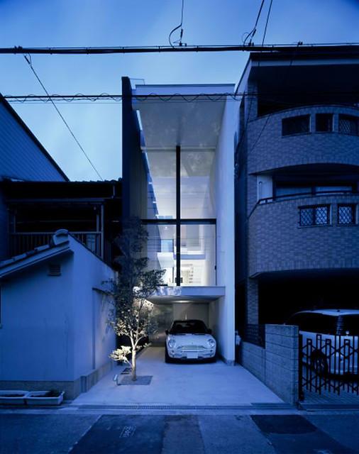 Minimalist narrow house in japan flickr photo sharing - Small narrow house plans minimalist ...
