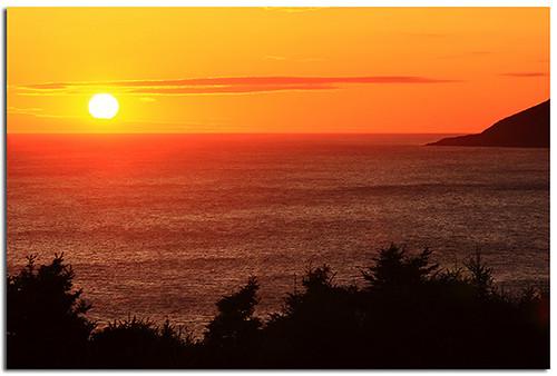 canada sunrise novascotia cove capebreton atlanticocean magichour goldenhour maritimes cabottrail meatcove