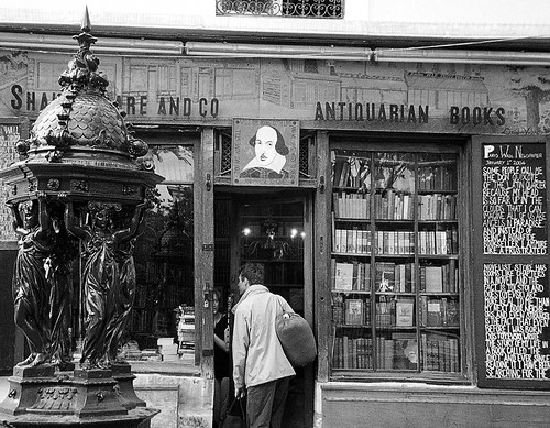 Shakespeare Bookshop, Paris by Flamenco Sun