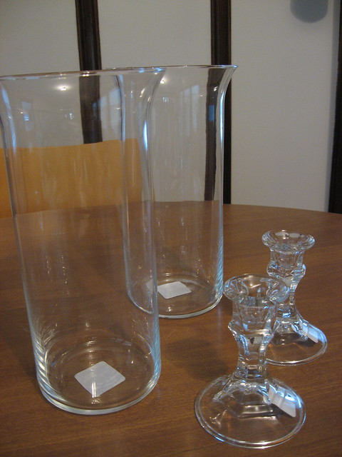 Dollar store glassware