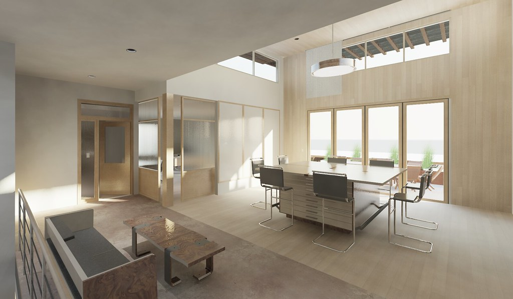 Pmc office building renovation because we can for A d interior decoration contractor