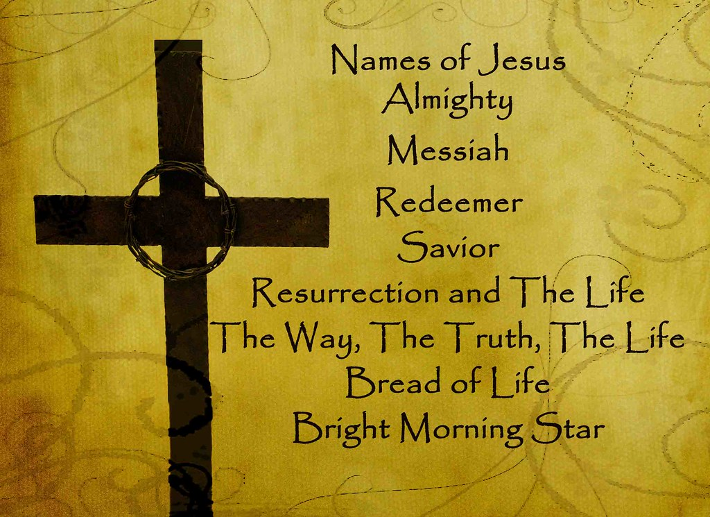 NAMES OF JESUS IN THE BIBLE