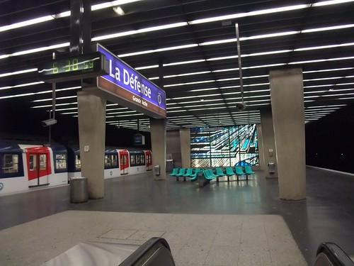 RER Station La Défense