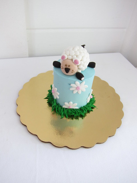 Lamb First Birthday Cake Flickr Photo Sharing