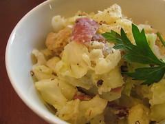 vegetable, food, dish, cuisine, potato salad,