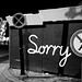 Small photo of Sorry