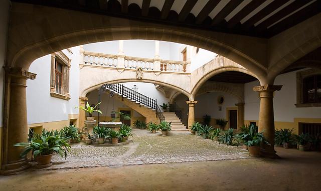 Patio de Ca'n Oleza (Palma de Mallorca)