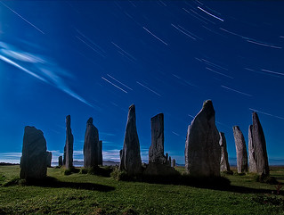 Callanish Startrails | by The Flying Monk