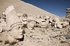 Stone heads on Mount Nemrut