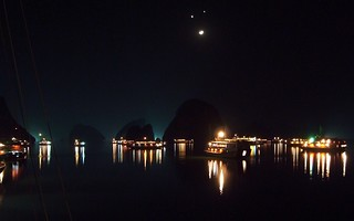 A night in Ha Long Bay