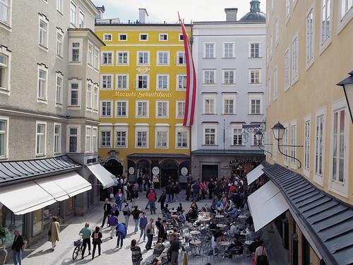 Mozart Geburtshaus - Mozart's Birthplace