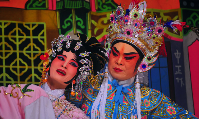 Chinese Opera in Chiang Mai