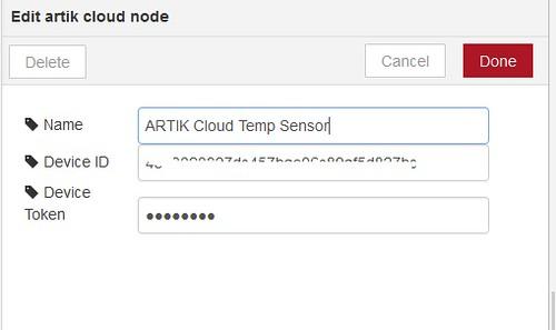 Cloud temp sensor