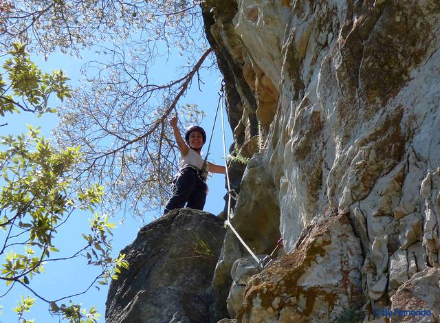 Gemma Clofent - Bous o Vaquetes, V+ -03- El Pla de Manlleu, Sector Vall de l'Infern, Subsector Can Llepaculs (02-07-2017)