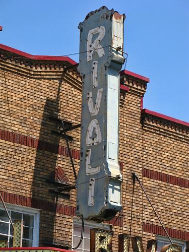 usa newyork sign geotagged marquee theater neon unitedstates catskills rivoli sullivancounty borschtbelt southfallsburg geo:lat=4170907400 geo:lon=7462878400